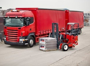 Red Truck - Container Port Service